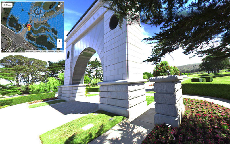 Cemetery 360 Software Cypress Lawn Mapping