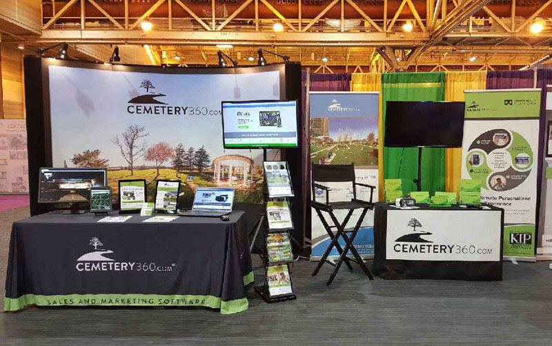 Cemetery 360 Software at 2016 ICCFA in New Orleans, LA