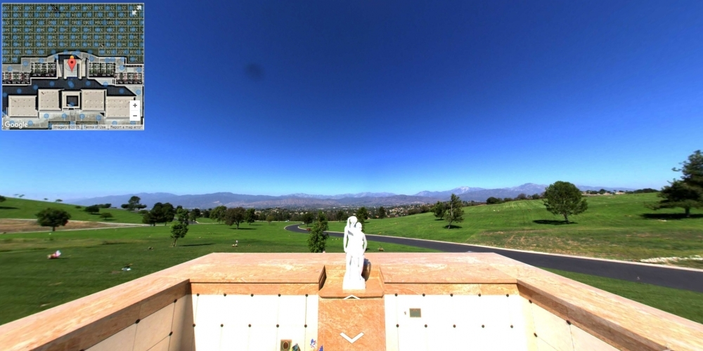 Forest Lawn Covina- Cemetery Software 360 Ground Level Mapping