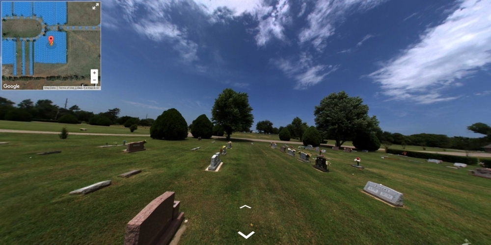 Memory Gardens - Cemetery Software 360 Ground Level Mapping