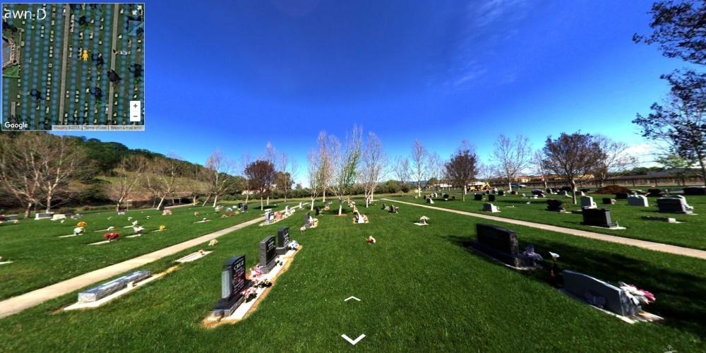 Rockville Cemetery - Wyatt Earp - Cemetery Software 360 Ground Level Mapping