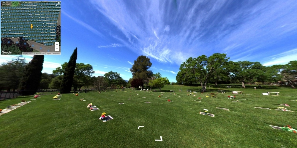 Tulocay Cemetery - Cemetery Software 360 Ground Level Mapping