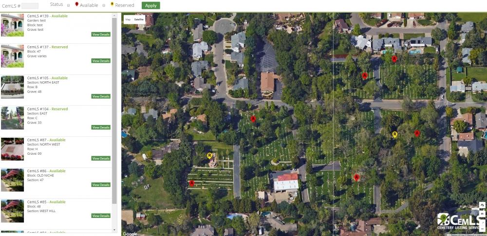 Fair Oaks Cemetery - Cemetery Listing Service - CemLS