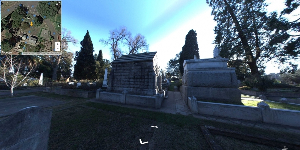 Old City Sacramento - Cemetery Software 360 Ground Level Mapping