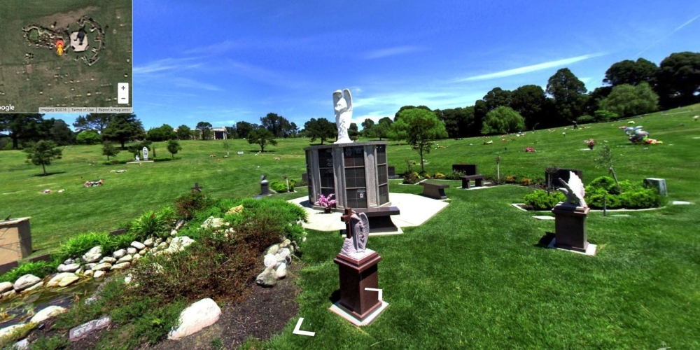 Rolling Hills Memorial Park - Cemetery Software 360 Ground Level Mapping
