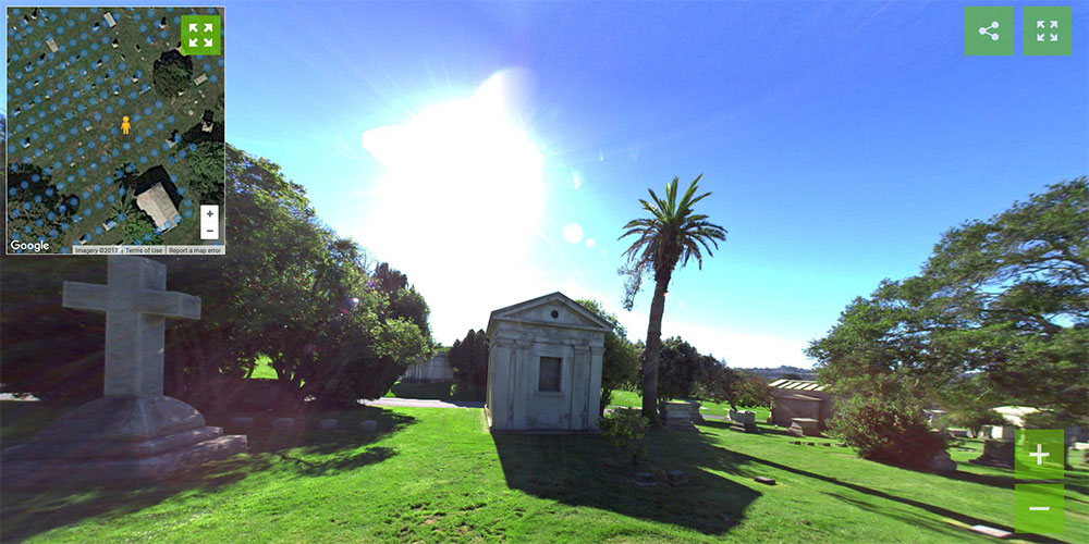Cypress Lawn East - Cemetery 360 Ground Level Mapping